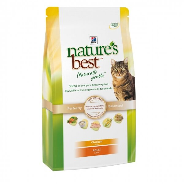 Hill's корм для кошек Natures Best Feline Adult with Chicken