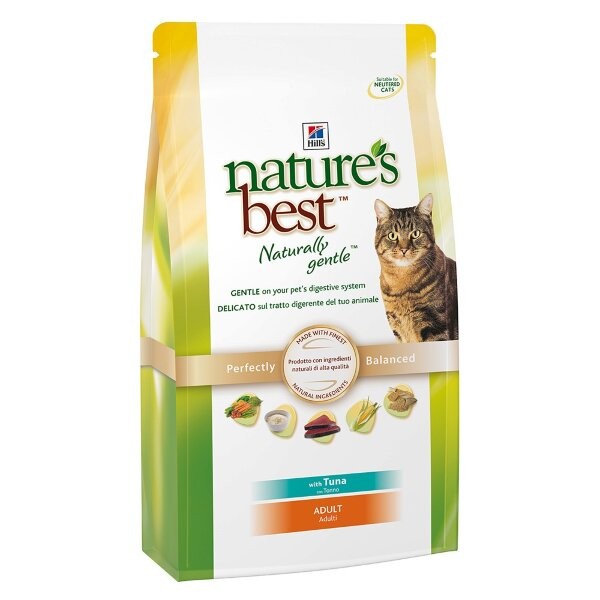 Hill's корм для кошек Natures Best Feline Adult with Tuna