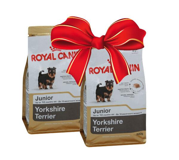 Корм royal canin junior yorkshire