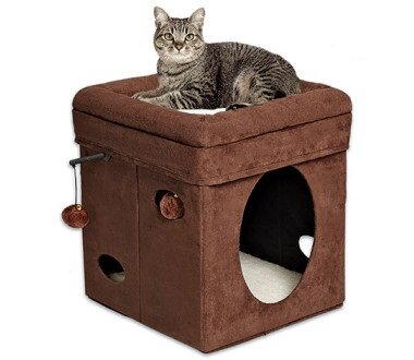 Midwest домик для кошки Currious Cat Cube
