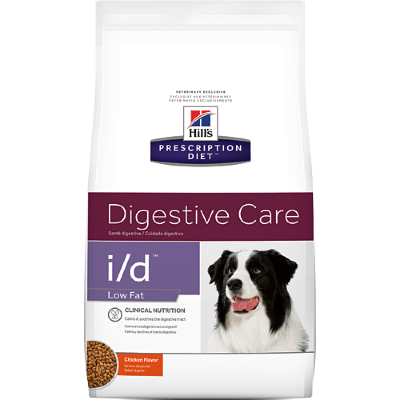 Hill's корм для собак PD i/d Low Fat Gastrointestinal Health при заболевании ЖКТ (низкокалорийный)