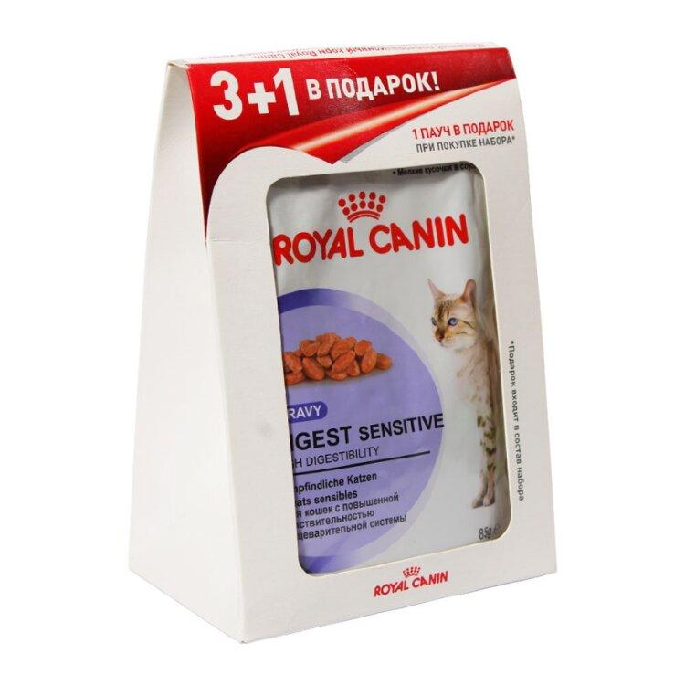Паучи корм royal canin digest sensitive