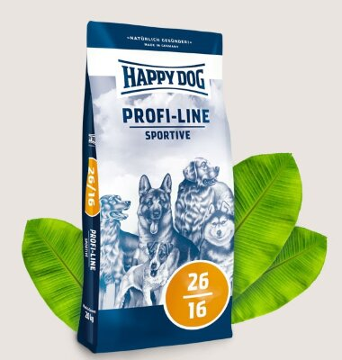 Happy Dog Profi-Line Adult Sportive 26-16 корм для собак всех пород
