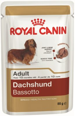 Royal Canin пауч для собак Dachshund Adult (паштет)