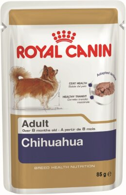 Royal Canin пауч для собак Chihuahua Adult (паштет)
