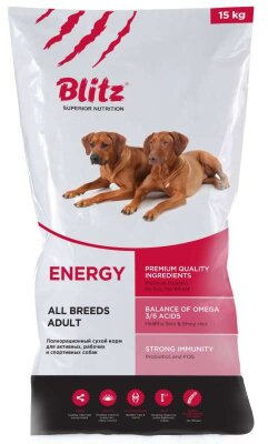 Blitz корм для собак Adult Energy Dog