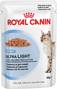 RoyalCanin пауч для кошек Ultra Light (в соусе)