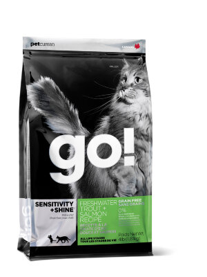 Go! корм для кошек Sensitivity&Shine Trout&Salmon Natural Holistic