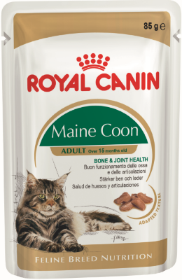 RoyalCanin пауч для кошек Maine Coon Adult (в соусе)