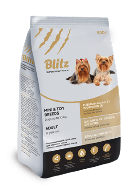 Blitz Adult Small (Mini&Toy) 2 кг